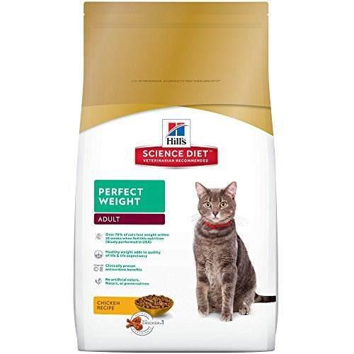 Alimento para gatos adultos para peso perfecto hills science