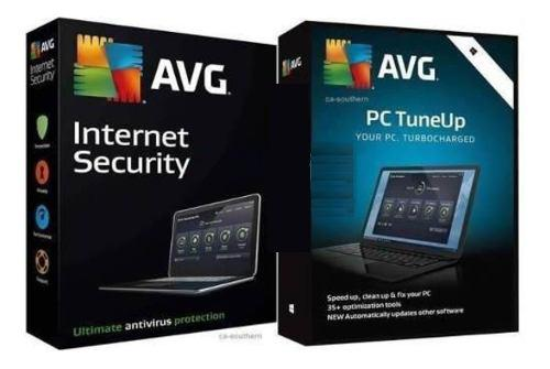 Antivirus avg internet security + avg tuneup 1 pc 3 años