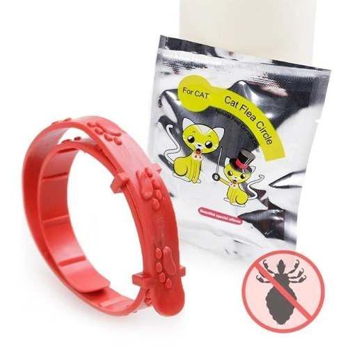 Collar anti pulgas para gatos o perros, el mejor antipulgas.