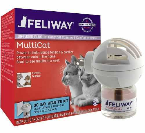 Feliway multicat/friends difusor - plug in - disponible ya