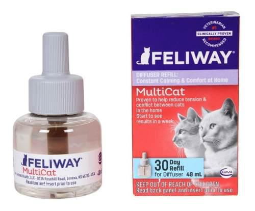 Feliway multicat/friends repuesto difusor - disponible ya
