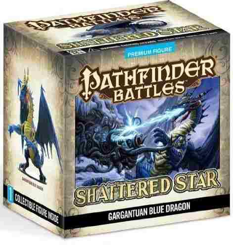 Figura pathfinder battles: shattered star gargantuan blu 543
