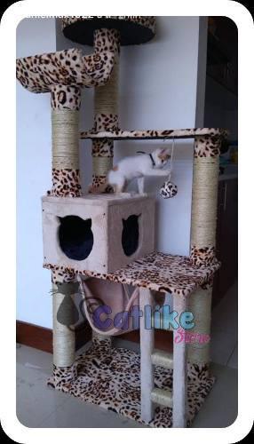 Gimnasios para gatos con cuna + obsequio + envío