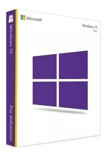 Licencia windows 10 pro - original (32/64 bits)
