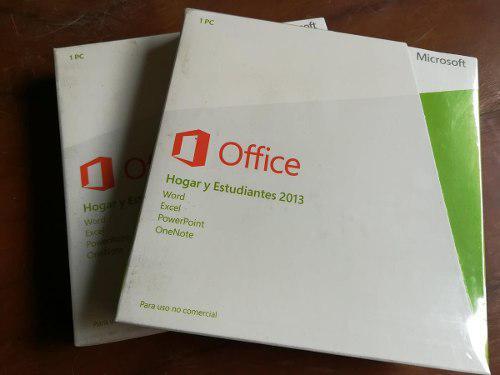 Microsoft office 2013 hogar y estudiantes - 1 equipo