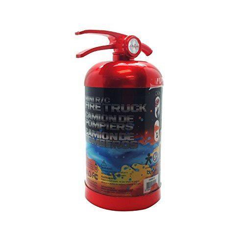 Mini camión de bomberos teledirigido en caja atractiva del