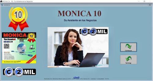 Programa mónica 10 - original: para 1 computador (}windows)