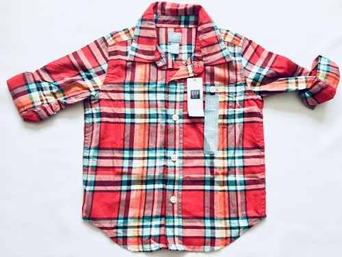 Camisa niño marca gap talla 2t