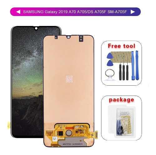 Display pantalla samsung galaxy a70 táctil touch repuesto