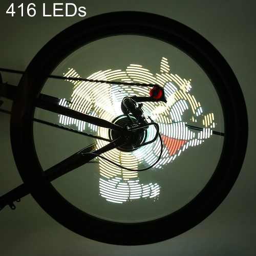 Ft - 801 Pro Diy Ciclismo Bicicleta 416 Leds Prueba De Imper