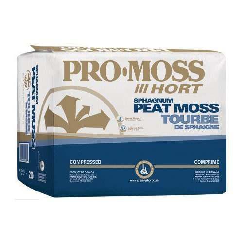 Premier 0280p pro moss horticulture retail peat moss, 1 pie