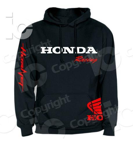 Saco buzo sudadera capucha honda racing hornet 600 900