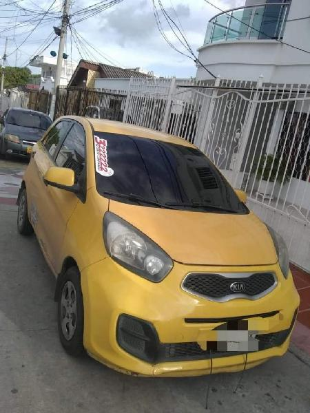 Taxi kia picanto ion modelo 2015