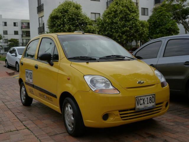 Vendo taxi chevrolet spark 2013 excelente 3155586965