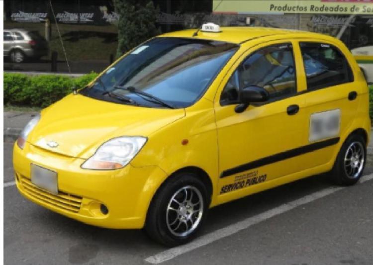 Vendo taxi spark chevrolet modelo 2008 papeles al día