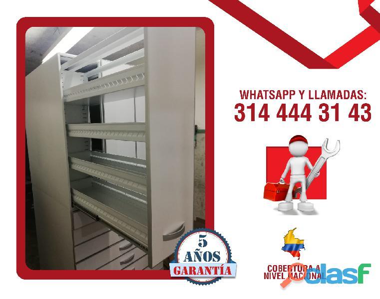 Estanterias metalicas para farmacias, copidrogas colombia 5