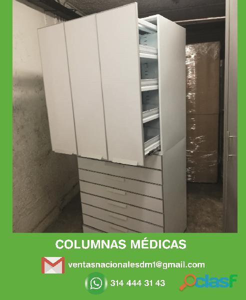Estanterias metalicas para farmacias, copydrogas colombia
