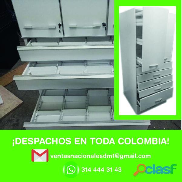 proveedores de vitrinas metalicas eps, ips, farmacias