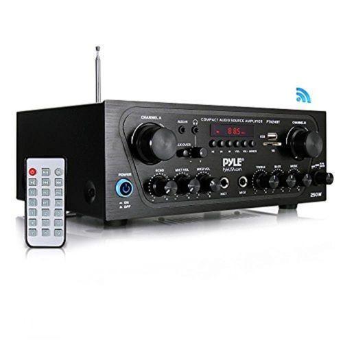 Amplificador de audio para el hogar compacto con bluetooth,
