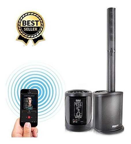 Amplificador de torre de altavoz de audio digital 400 vatios