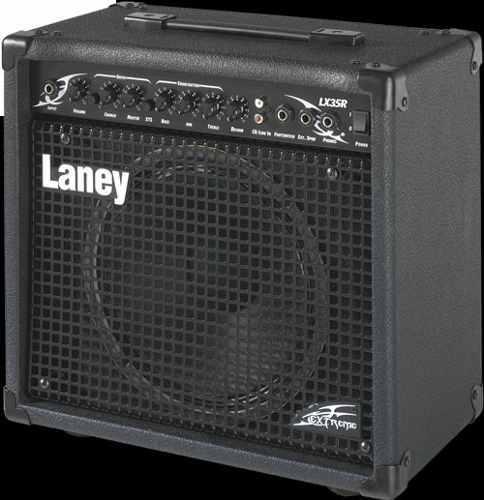 Amplificador para guitarra laney lx35r 35w con reverb