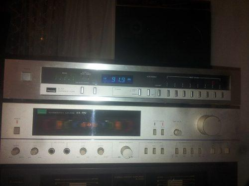 Amplificador reververacion,vintage y equalizador sansui,1-a