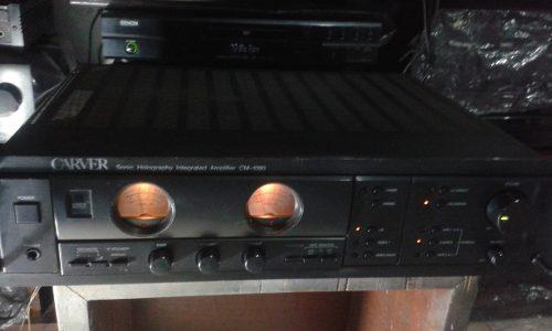 Amplificadores sonido,carver y kenwood,vintage hi.fi japones