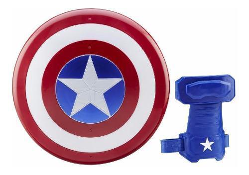 Capitán américa war escudo guante magnético b5782 hasbro