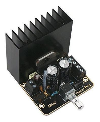 Drok 30w + 30w amplificador de potencia de audio ab clase 2