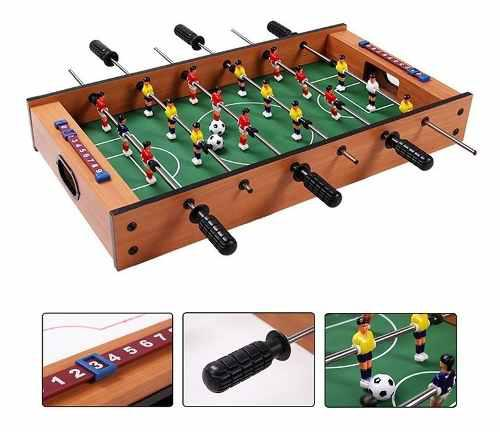 Futbolito de mesa mini futbolín armable importado niño