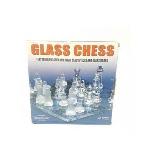 Juego ajedrez vidrio diversión entretenimiento