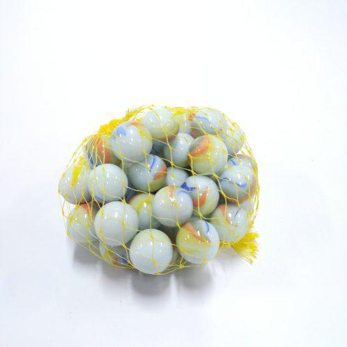 Juego bolas canicas bogotanas blancas x50
