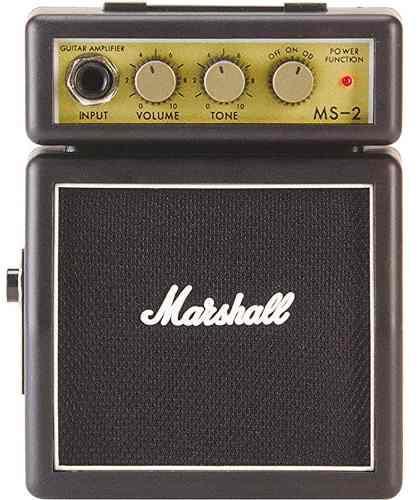 Marshall Authentic Ms-2 Mini Guitar Amp Vintage Style