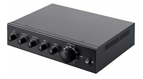 Monoprice commercial audio 60w 3ch 100 /70v amplificador