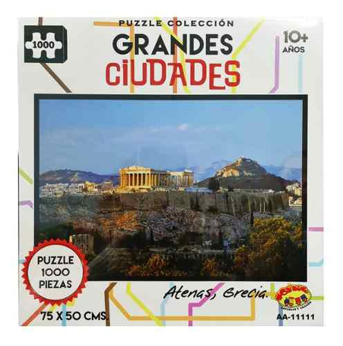 Rompecabezas Grandes Ciudades Del Mundo 1000 Pz