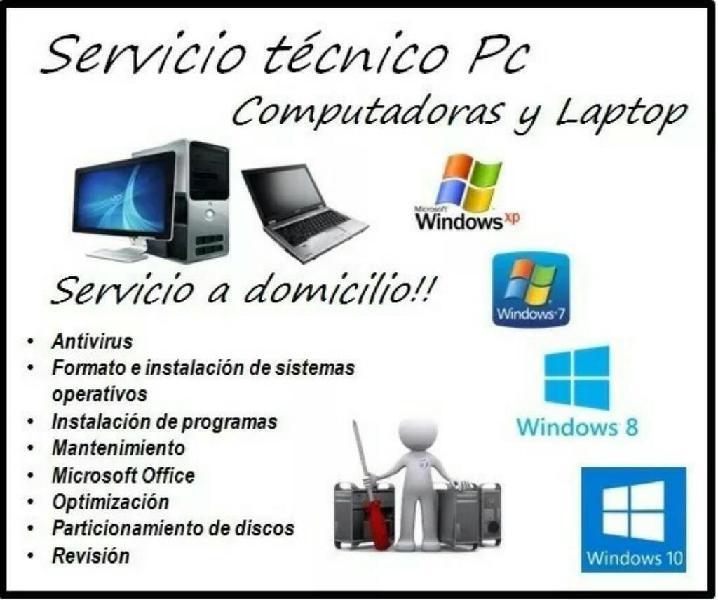Soporte técnico computadores redes