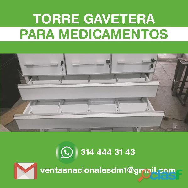 MUEBLE CAJA METALICO, EPS, DROGUERIA