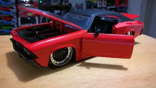 Auto clasico escala 1/24 chevy chevelle ss 1970 metálico