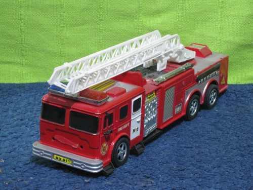 Camion bomberos como se ve en la foto