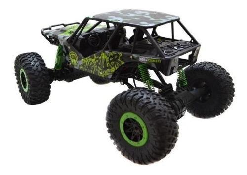 Carro jeep control remoto 4x4 monster truck - 50 min andando