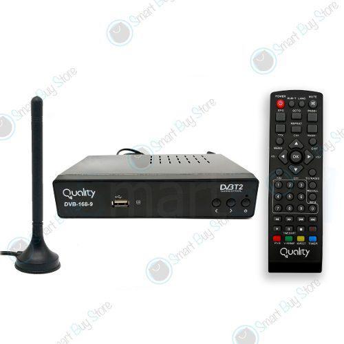 Decodificador original tdt hdmi rca antena tv hd + regalo