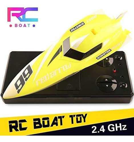 Juguetes barco de rc, barco de control remoto para piscinas