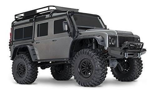 Land rover defender traxxas escala 1/10 trx-4 control 2.4ghz