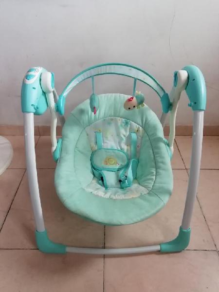 Mecedora musical para bebé mimo bebesit