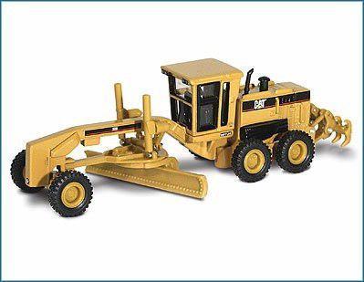 Motoniveladora 1:87 escala norscot cat 160h - importados