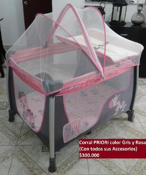 Se vende corral para bebé niña