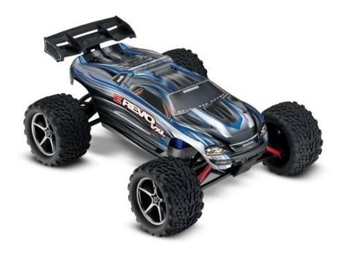 Traxxas e-revo vxl: 1/16-scale 4wd racing monster truck !