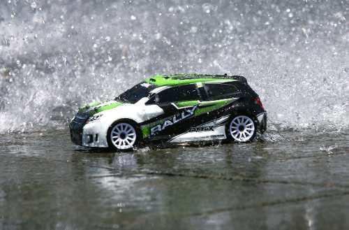 Traxxas rally escala 1/18 4wd rc verde