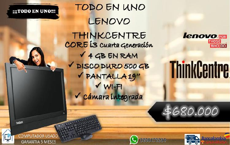 All in one lenovo thinkcentre