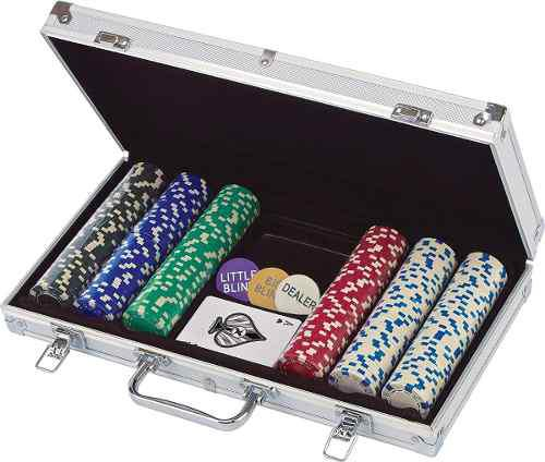 Cardinal 300-piece poker set poker 300 fichas